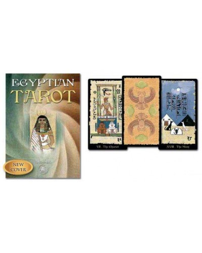 Egyptian Tarot Grand Trumps Card Set at Egyptian Marketplace,  Egyptian Decor Statues, Jewelry & Art - God Statues & Museum Replicas