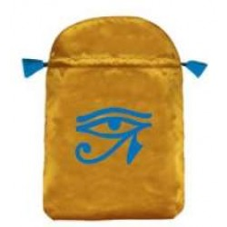 Eye of Horus Satin Bag Egyptian Marketplace  Egyptian Decor Statues, Jewelry & Art - God Statues & Museum Replicas