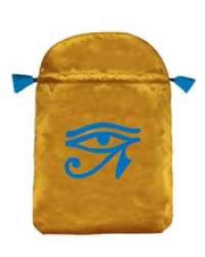 Eye of Horus Satin Bag at Egyptian Marketplace,  Egyptian Decor Statues, Jewelry & Art - God Statues & Museum Replicas