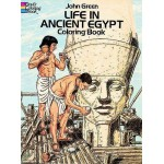 Life in Ancient Egypt Coloring Book at Egyptian Marketplace,  Egyptian Decor Statues, Jewelry & Art - God Statues & Museum Replicas