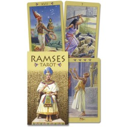 Ramses Egyptian Tarot Deck of Eternity Egyptian Marketplace  Egyptian Decor Statues, Jewelry & Art - God Statues & Museum Replicas