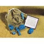 Pharoahs Pocket Amulet Set at Egyptian Marketplace,  Egyptian Decor Statues, Jewelry & Art - God Statues & Museum Replicas