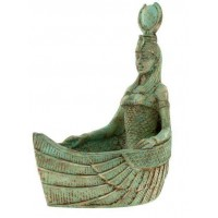 Winged Isis Boat Offering Bowl