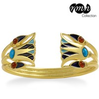 Lotus Egyptian Cuff Bracelet