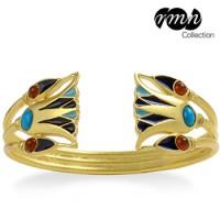 Lotus Egyptian Cuff Bracelet