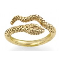 Egyptian Cobra Snake Ring