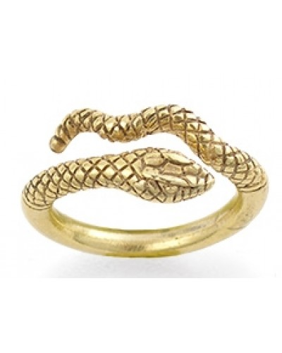 Egyptian Cobra Snake Ring at Egyptian Marketplace,  Egyptian Decor Statues, Jewelry & Art - God Statues & Museum Replicas