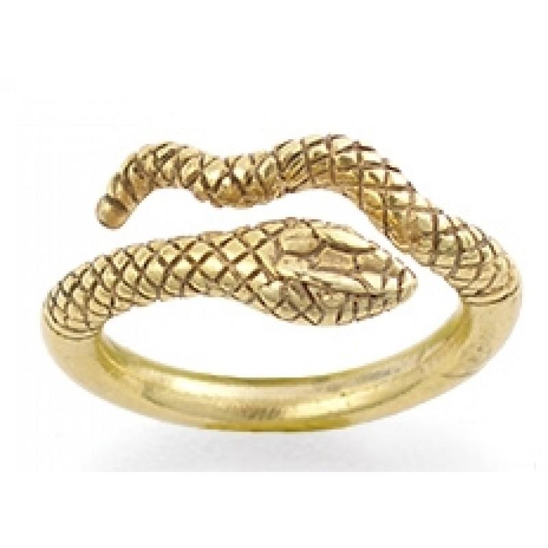 Egyptian Cobra Snake Ring