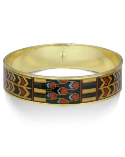 Egyptian King Tut Tomb Bangle Bracelet at Egyptian Marketplace,  Egyptian Decor Statues, Jewelry & Art - God Statues & Museum Replicas