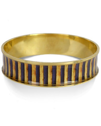Egyptian King Tut Striped Bangle Bracelet at Egyptian Marketplace,  Egyptian Decor Statues, Jewelry & Art - God Statues & Museum Replicas