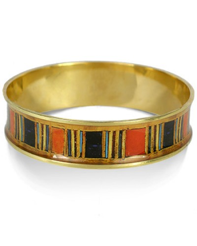 Egyptian King Tut Bangle Bracelet at Egyptian Marketplace,  Egyptian Decor Statues, Jewelry & Art - God Statues & Museum Replicas