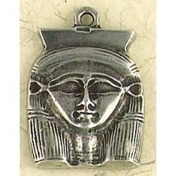Hathor Pewter Necklace Egyptian Marketplace  Egyptian Decor Statues, Jewelry & Art - God Statues & Museum Replicas