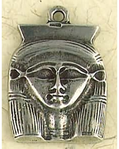Hathor Pewter Necklace at Egyptian Marketplace,  Egyptian Decor Statues, Jewelry & Art - God Statues & Museum Replicas