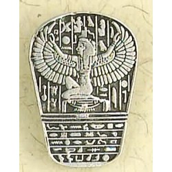 Isis Heiroglyphic Stele Pewter Necklace Egyptian Marketplace  Egyptian Decor Statues, Jewelry & Art - God Statues & Museum Replicas