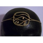 Eye of Ra Egyptian Bronze Circlet at Egyptian Marketplace,  Egyptian Decor Statues, Jewelry & Art - God Statues & Museum Replicas