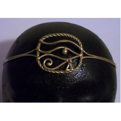 Eye of Ra Egyptian Bronze Circlet Egyptian Marketplace  Egyptian Decor Statues, Jewelry & Art - God Statues & Museum Replicas
