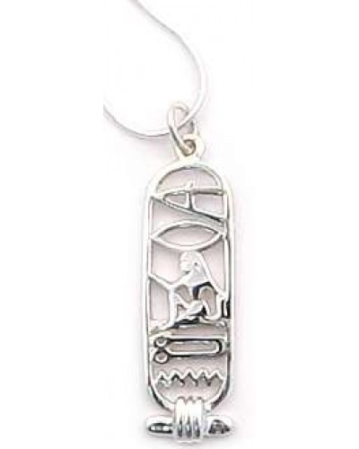 I Love You Egyptian Cartouche Sterling Silver Necklace at Egyptian Marketplace,  Egyptian Decor Statues, Jewelry & Art - God Statues & Museum Replicas