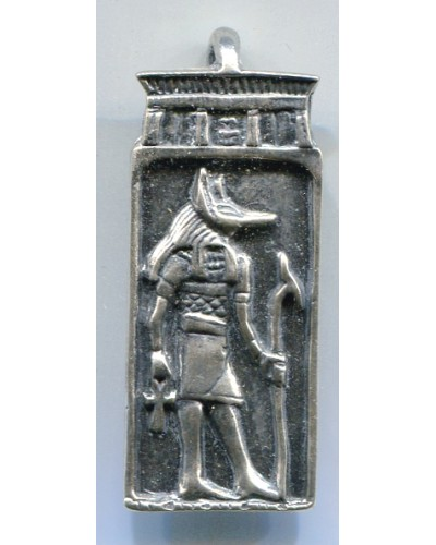 Anubis Egyptian God Pendant at Egyptian Marketplace,  Egyptian Decor Statues, Jewelry & Art - God Statues & Museum Replicas