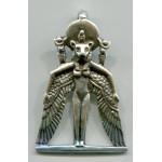 Winged Sekhmet Egyptian Goddess Pendant at Egyptian Marketplace,  Egyptian Decor Statues, Jewelry & Art - God Statues & Museum Replicas
