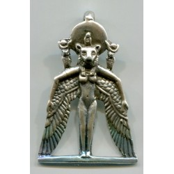 Winged Sekhmet Egyptian Goddess Pendant Egyptian Marketplace  Egyptian Decor Statues, Jewelry & Art - God Statues & Museum Replicas