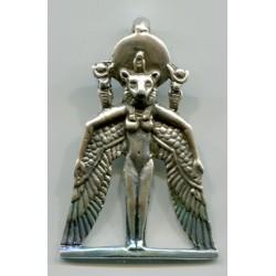 Winged Sekhmet Egyptian Goddess Pendant Egyptian Marketplace  Egyptian Decor Statues, Jewelry & Art - God Statues & Museum Replicas