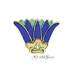 Egyptian Lotus Enameled Brooch Egyptian Marketplace  Egyptian Decor Statues, Jewelry & Art - God Statues & Museum Replicas
