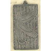 Maat Egyptian Goddess Pewter Necklace