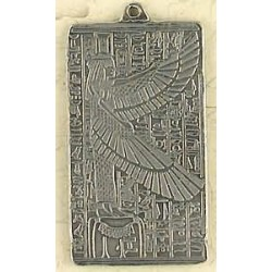 Maat Egyptian Goddess Pewter Necklace Egyptian Marketplace  Egyptian Decor Statues, Jewelry & Art - God Statues & Museum Replicas