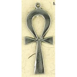 Ankh Plain Pewter Necklace Egyptian Marketplace  Egyptian Decor Statues, Jewelry & Art - God Statues & Museum Replicas
