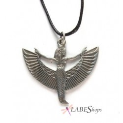 Winged Isis Pewter Pendant Egyptian Marketplace  Egyptian Decor Statues, Jewelry & Art - God Statues & Museum Replicas