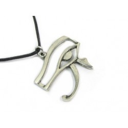 Eye of Horus Pewter Necklace Egyptian Marketplace  Egyptian Decor Statues, Jewelry & Art - God Statues & Museum Replicas