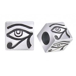 Eye of Horus Square Bead Egyptian Marketplace  Egyptian Decor Statues, Jewelry & Art - God Statues & Museum Replicas