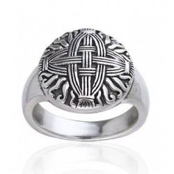 Celtic Cross of St Brigid Silver Ring Egyptian Marketplace  Egyptian Decor Statues, Jewelry & Art - God Statues & Museum Replicas