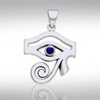 Eye of Horus Lapis Gemstone Pendant