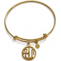 Egyptian Blessing Amulet Slider Bangle Bracelet