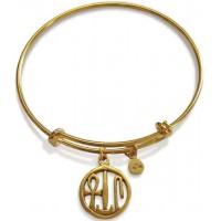 Egyptian Blessing Amulet Slider Bangle Bracelet