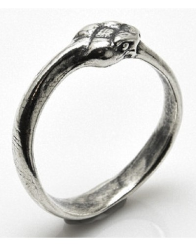 Ouroboros Snake Sterling Silver Ring at Egyptian Marketplace,  Egyptian Decor Statues, Jewelry & Art - God Statues & Museum Replicas