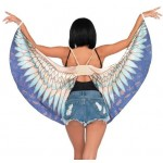 Egyptian Goddess Festival Wings at Egyptian Marketplace,  Egyptian Decor Statues, Jewelry & Art - God Statues & Museum Replicas