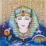 Egyptian Greeting Card with CD at Egyptian Marketplace,  Egyptian Decor Statues, Jewelry & Art - God Statues & Museum Replicas