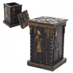 Egyptian God Tall Box at Egyptian Marketplace,  Egyptian Decor Statues, Jewelry & Art - God Statues & Museum Replicas