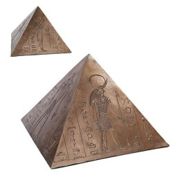 Egyptian Pyramid Memorial Keepsake Urn Egyptian Marketplace  Egyptian Decor Statues, Jewelry & Art - God Statues & Museum Replicas