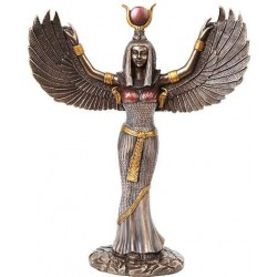 Winged Isis Egyptian Goddess Statue - 12 Inches Egyptian Marketplace  Egyptian Decor Statues, Jewelry & Art - God Statues & Museum Replicas