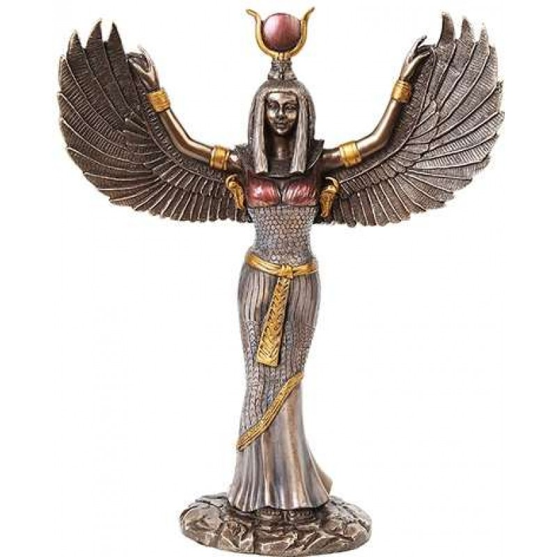 Isis Egyptian Winged Goddess 12 Inch Statue Ancient Egyptian Gods