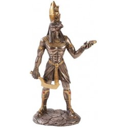 Horus Egyptian God Statue - 12 Inches Egyptian Marketplace  Egyptian Decor Statues, Jewelry & Art - God Statues & Museum Replicas