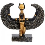 Winged Isis Mini Statue - 2 3/4 Inches at Egyptian Marketplace,  Egyptian Decor Statues, Jewelry & Art - God Statues & Museum Replicas