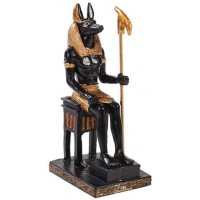Anubis Mini Egyptian God Statue