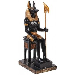 Anubis Mini Egyptian God Statue Egyptian Marketplace  Egyptian Decor Statues, Jewelry & Art - God Statues & Museum Replicas