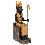 Sekhmet Mini Egyptian God Statue at Egyptian Marketplace,  Egyptian Decor Statues, Jewelry & Art - God Statues & Museum Replicas
