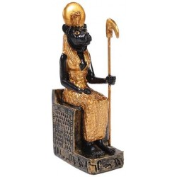 Sekhmet Mini Egyptian God Statue Egyptian Marketplace  Egyptian Decor Statues, Jewelry & Art - God Statues & Museum Replicas