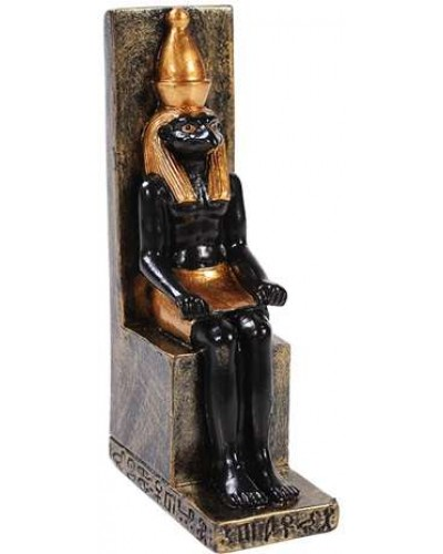 Horus Mini Egyptian God Statue at Egyptian Marketplace,  Egyptian Decor Statues, Jewelry & Art - God Statues & Museum Replicas